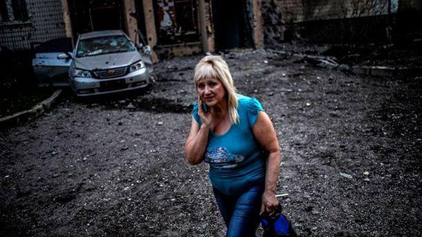 Донецк под обстрелами