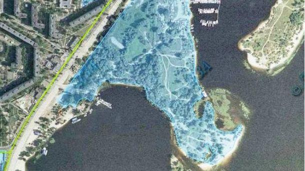 Экс-регионал отсудил большую территорию возле Днепра