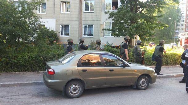 Спецоперация во Львове