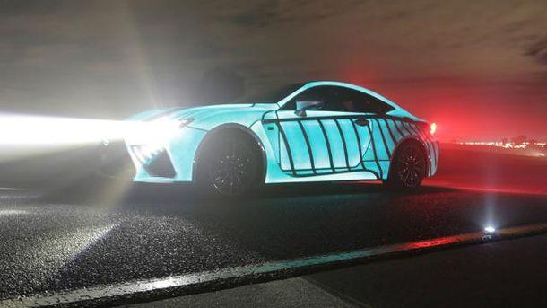 Новый спорткар Lexus