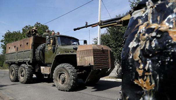 Військова техніка на Донбасі