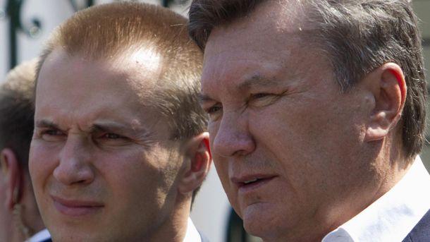 Александр и Виктор Януковиче