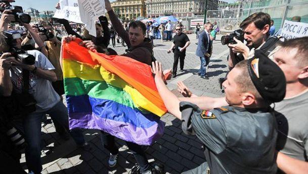 Марш ЛГБТ у Санкт-Петербурзі