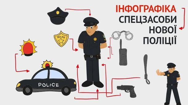Спецзасоби нової поліції