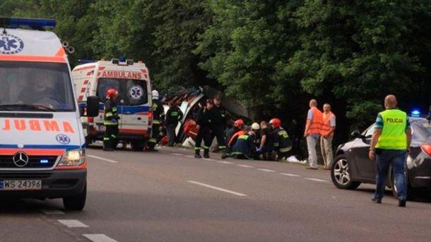Аварія у Польщі