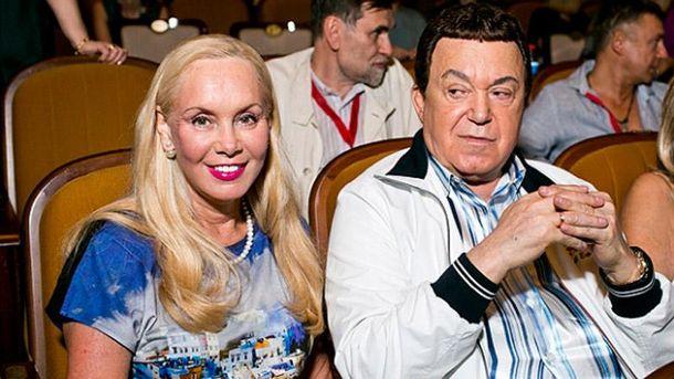 Йосип Кобзон з дружиною Неллі
