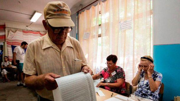 Выборы в Чернигове