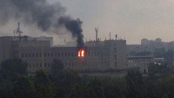 Пожар в харьковском институте