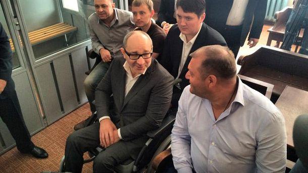 Геннадий Кернес и Михаил Добкин в суде