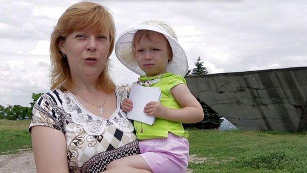 Переселенка з Донбасу