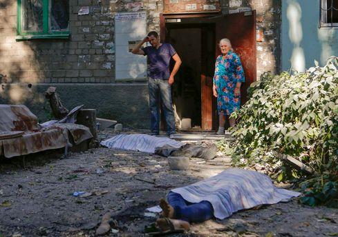 Жертви війни в Україні