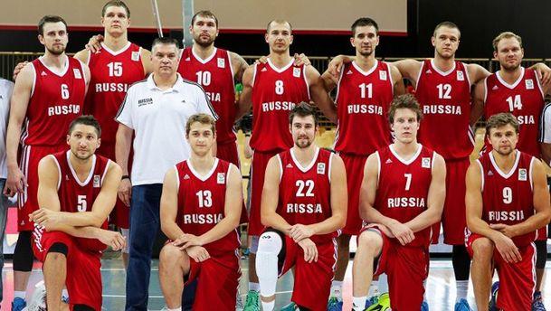 Баскетболісти збірної Росії