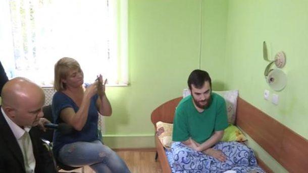 Задержанный российским военный Евгений Ерофеев