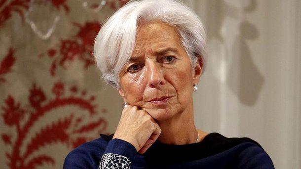 Директор МВФ Крістін Лагард