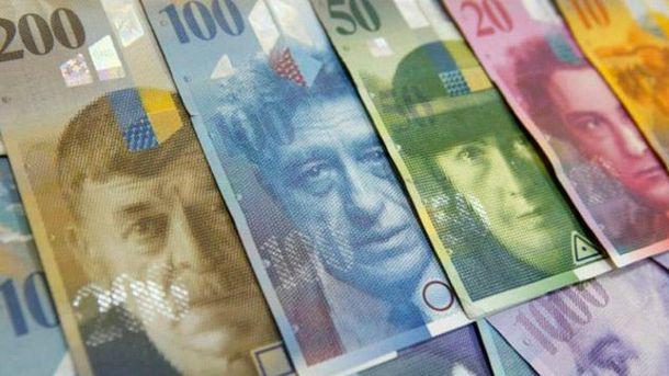 Швейцарські франки