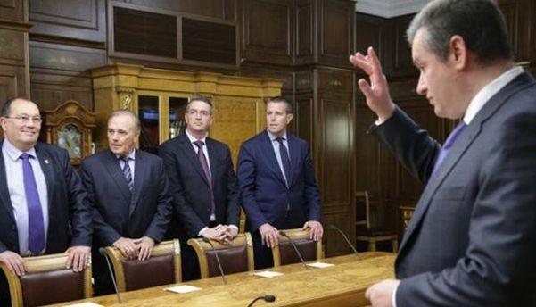 Французькі депутати у Криму