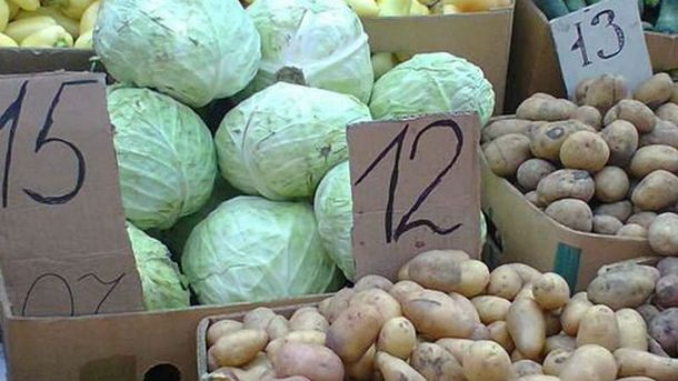 Цены на продукты в оккупации