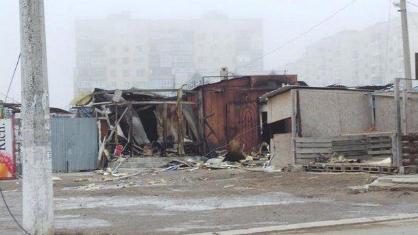 Маріуполь після обстрілу терористами