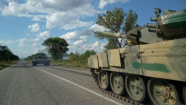 Росія тестує на Донбасі свої новітні танки