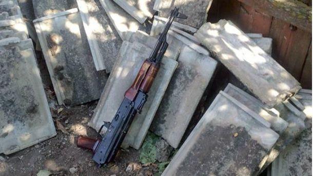 Учасник АТО застрелився з автомата Калашникова