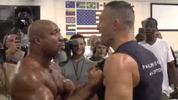 Чемпионские разборки: американский боксер провоцировал Кличко на драку