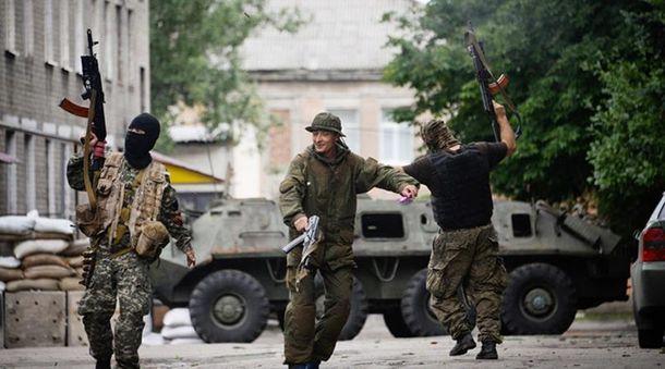 Терористи у Донецьку