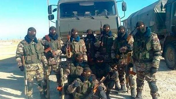 Російські військові у Сирії