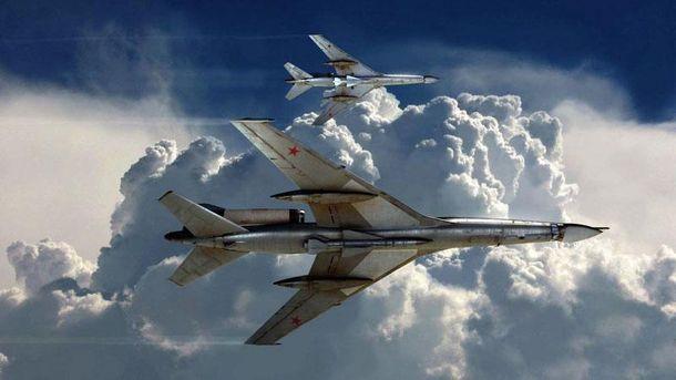 Данія перехопила два російські військові літаки