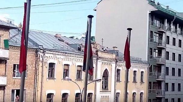Мужчина на крыше