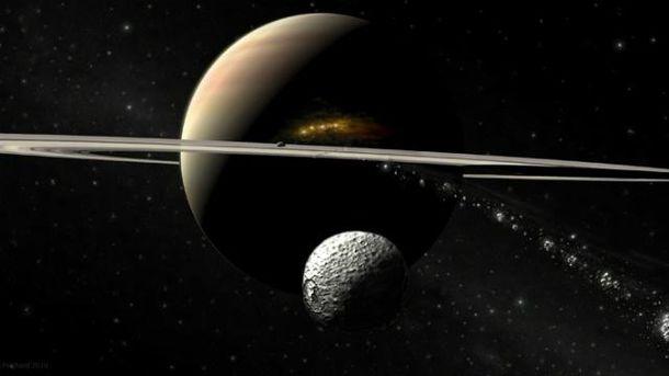 NASA обнародовало редкое фото Сатурна