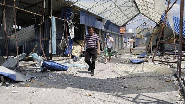 Последствия войны на Донбассе