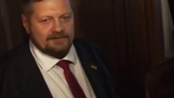 Ігор Мосійчук у кулуарах