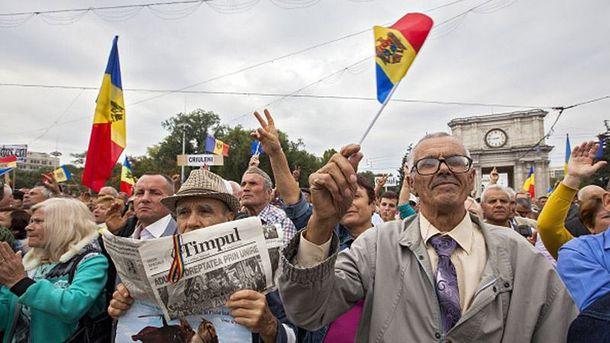 Протест у Кишиневі