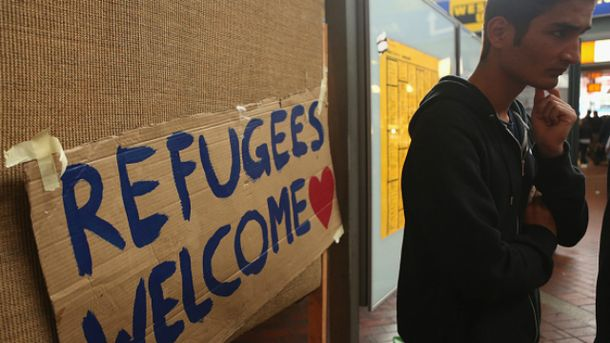 Беженцы в Европе