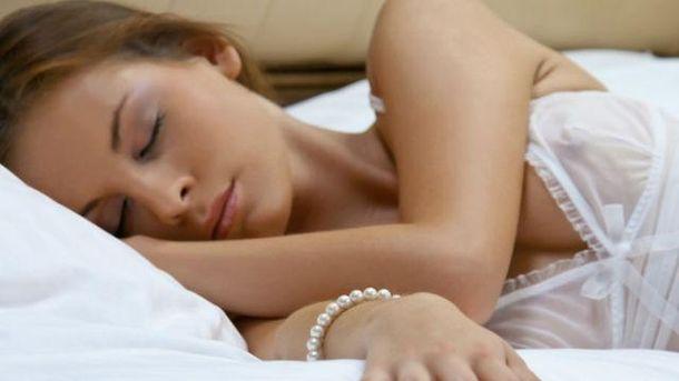 Спляча жінка
