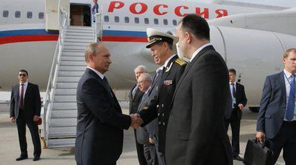 Володимир Путін прибув до США