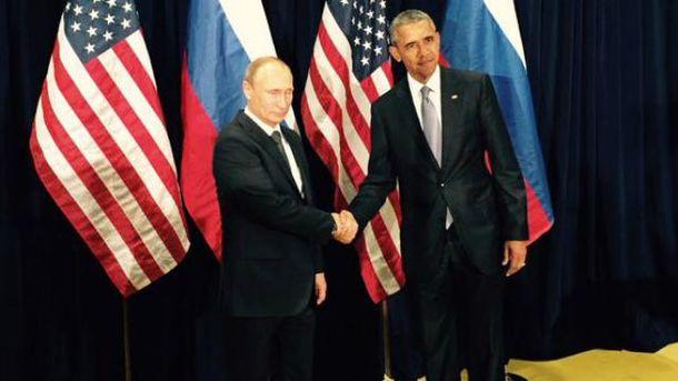 Обама впервые за два года встретился с Путиным