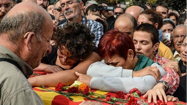 Турецкая власть назвала кого подозревает в страшном теракте в Анкаре