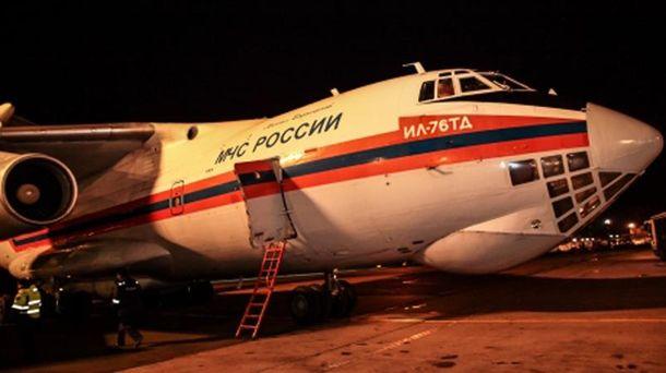 Літак МНС Росії