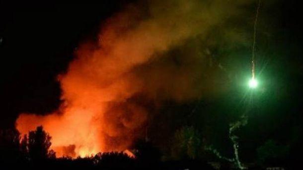 Взрывы в Сватово