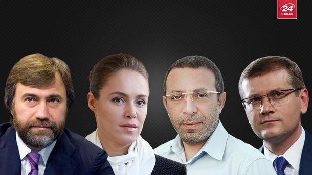 Новинский, Королевская, Корбан, Вилкул