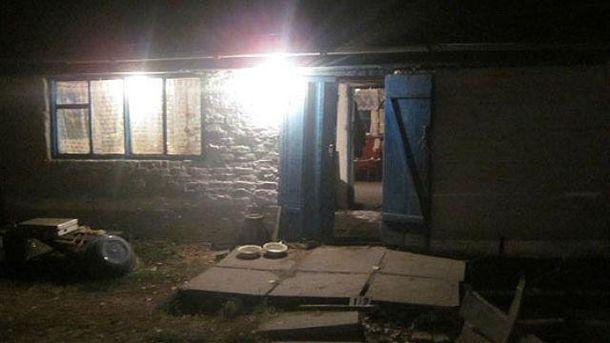 Дом, где погибли 3 человека