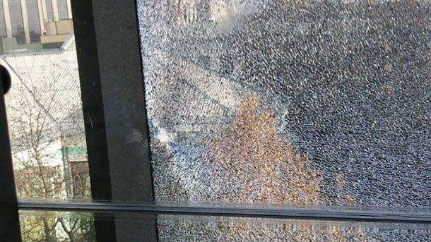 Вікно у кабінеті Шокіна