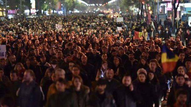 Протести у Румунії