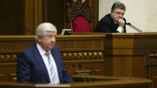 Віктор Шокін, Петро Порошенко