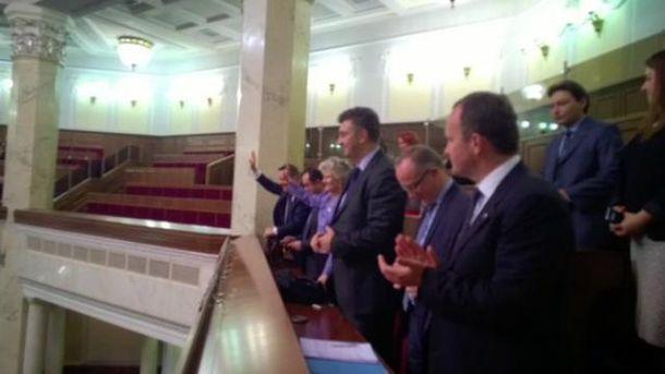 Депутати Європаламенту у Верховній Раді