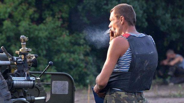 Українські військові в АТО