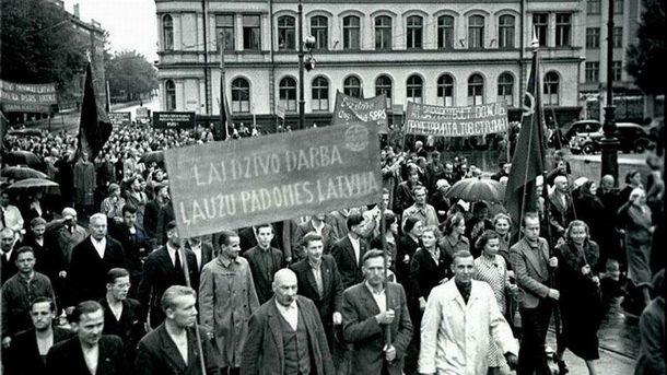 Советская оккупация Прибалтики