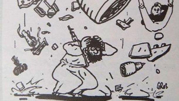 Карикатура в  Charlie Hebdo