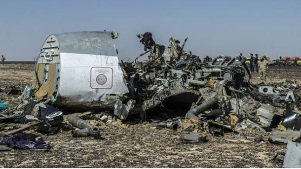 Російський літак A321